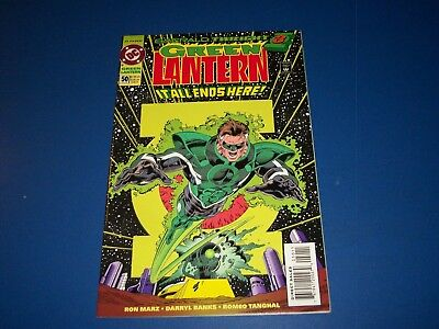 Green Lantern #50 1st Kyle Rayner Story Key VF+ Beauty Wow