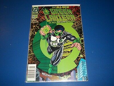 Green Lantern #51 1st Kyle Rayner Story Key VF Beauty Wow