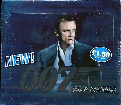 James Bond 007 Spy Cards Commander Factory Sealed Trading Card Box