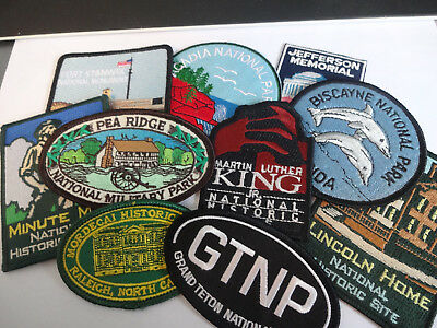 Group of United States Souvenir Patches  Group 1