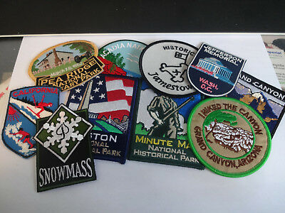 Group of United States Souvenir Patches  Group 2