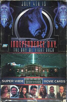 Independence Day Widevision Full Trading Card Box