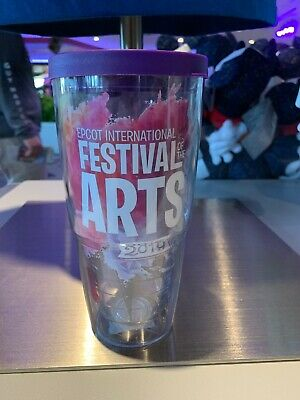 2019 Epcot Festival of the Arts Disney Figment Tervis Mug Cup LARGE NEW