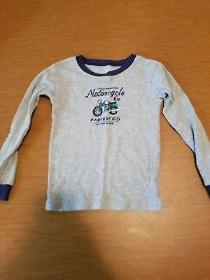 Carter's Motorcycle long sleeve shirt Size 5t