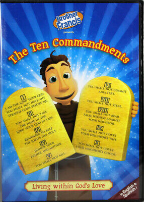 Brother Francis The Ten Commandments NEW DVD Living Within God's Love