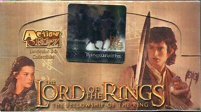 Lord Of The Rings FOTR Action Flipz Factory Sealed Trading Card Hobby Box