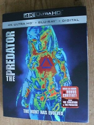 The Predator 4K Ultra HD (4K + Bluray + Digital HD) Brand New w/Slipcover