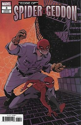Edge Of Spider-Geddon Comic Issue 3 Limited Variant Modern Age First Print 2018
