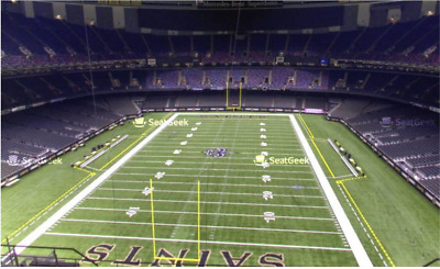 New Orleans Saints v Rams NFC Championship Game Three (3) Tickets Sec 626 Row 18