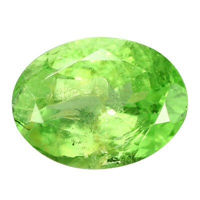 1.25Ct Romantic Oval Cut 8 x 6 mm 100% Natural GREEN TSAVORITE