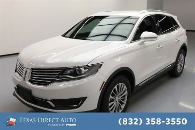 2016 Lincoln MKX Select Texas Direct Auto 2016 Select Used 3.7L V6 24V Automatic AWD SUV