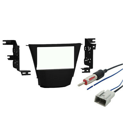 Acura MDX 2007-2009 Double DIN Stereo Harness Radio Install Dash Kit Package New