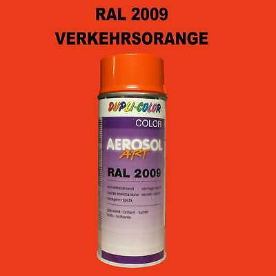 Duplicolor RAL2009 Orange Trafic Pulvérisation 400ml Brillant Farbenspray