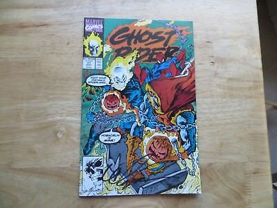 1991 Marvel Ghost Rider # 17 Spider-Man Signed Mark 'tex' Texeira Art, With Poa