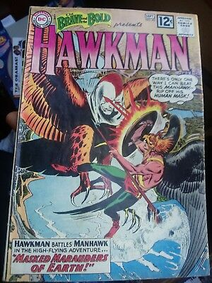 BRAVE and the BOLD # 43 VIVID FN HAWKMAN origin key issue