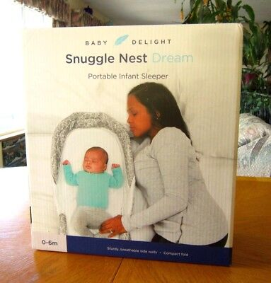 Snuggle Nest Dream Portable Infant Sleeper, New