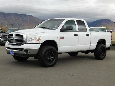 2008 Dodge Ram 2500 BIG HORN LIFTED DODGE RAM CREW CAB SLT BIGHORN 4X4 CUMMINS DIESEL CUSTOM WHEELS TIRES