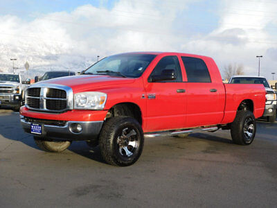 2008 Dodge Ram 2500 SLT LIFTED DODGE RAM MEGA CAB SLT 4X4 CUMMINS DIESEL CUSTOM WHEELS TIRES AUTO TOW