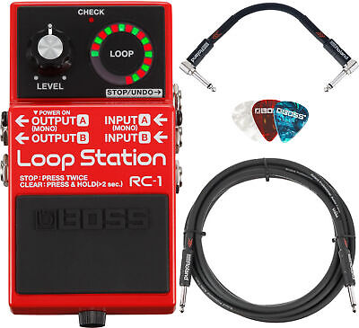 Boss RC-1 Loop Station w/ Cables