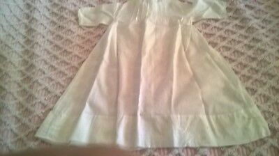 Vintage /antique Babies Gown  Hand Made By Bml Vgc