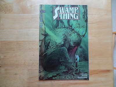 1993 Dc Vertigo Swamp Thing # 135 Signed 2X Charles Vess & Kim Demulder With Poa
