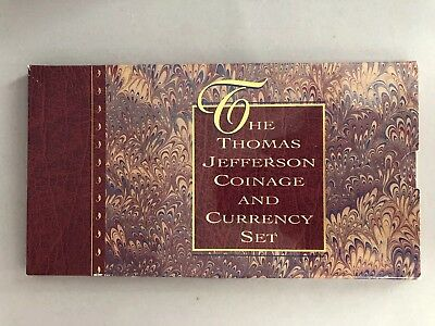Thomas Jefferson Coinage & Currency Set, w/ Silver Dollar and $2 Bill