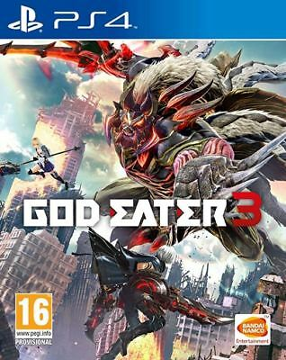 God Eater 3 (PS4) NEW AND SEALED - IN STOCK - QUICK DISPATCH