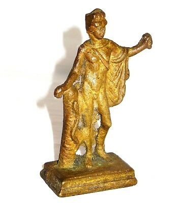 Early Antique Bronze Figurine Roman / Greek mythology