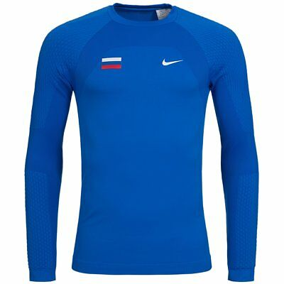 Nike Russland Seamless Baselayer Fan Funktionsshirt 713587-460 Gr. 3XL blau neu