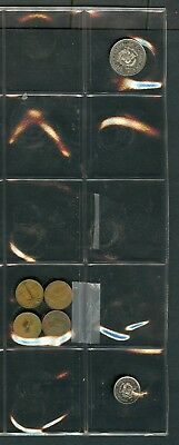 Worldwide Lot Of 26 Assorted Foreign Circulated Coins You Do The Grading