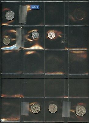 Worldwide Lot Of 78 Assorted Forign  Circulated  Coins You Do The  Grading