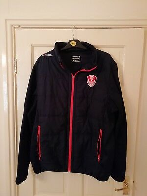 St Helens Rugby League windbreake jacket vgc size 3xl men's.with pockets.