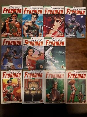 Crying Freeman Vol 1 1-7 Vol 2 1-4 by Kazuo Koike & Ryoichi Ikegami