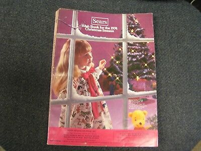 1974 Sears Christmas Catalog    Nice Condition!!
