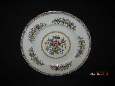 "Four {4} Coalport Ming Rose 6 1/4"" Scalloped Bread & Butter Plates {Nice}"