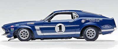 ACME 1969 Boss 302 Trans Am Ford Mustang #1 Sam Posey LE MIB IN STOCK!