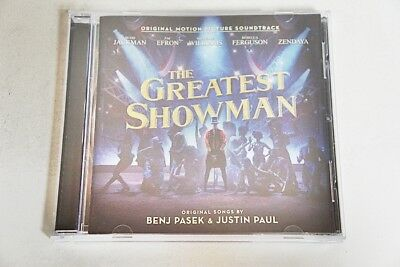 The Greatest Showman Soundtrack Benj Pasek & Justin Paul 2017-Cd