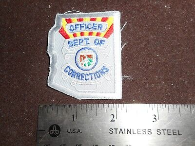 Arizona Corrections badge patch.