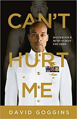 Cant Hurt Me Master Your Mind and Defy the Odds by David Goggins HARDCOVER Book