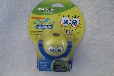 NIckelodeon Spongebob Night Projectable Night Light New