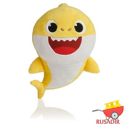 Pinkfong BABY SHARK  Yellow Official English Singing Plush Authentic