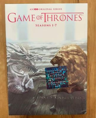 GAME OF THRONES COMPLETE SERIES SEASONS 1-7 (DVD 34-Disc) SHIPS WITHIN 24 HRS