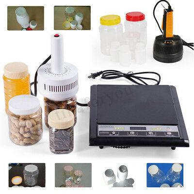AC 220V Electric Handheld Induction Sealer Bottle Cap Sealing Machine 20-100mm
