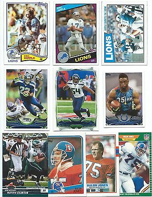 40 Different Utah State Univ. Alumni Football Cards; 1982-2014; NM-Mint