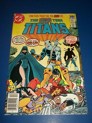 New Teen Titans #2 1st Deathstroke Key VF- Beauty Wow
