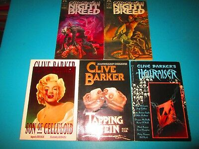 5 Clive Barker Graphic Novels & Comics Nightbreed Hellraiser Tapping The Vein ++