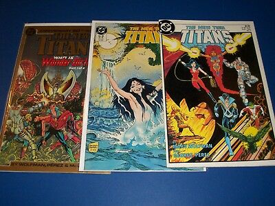 New Teen Titans #1,39,50 lot of 3 Fine to VF