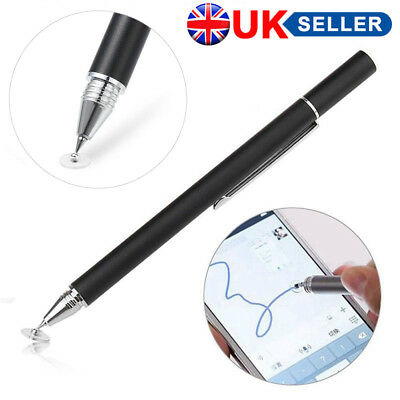 UK Thin Capacitive Touch Screen Pen Stylus For iPhone iPad Sony PDA Phone Tablet