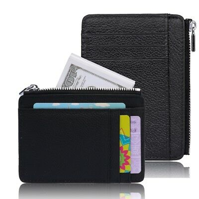 Wallets for Men - RFID Blocking Mens Genuine Leather Slim Wallet - Gift Box New