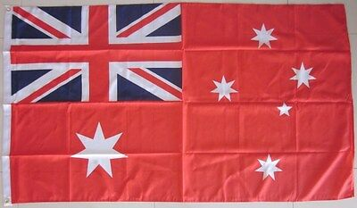 Australia Red Ensign Flag  LARGE Red Australian Flag AUSPOST REGISTERED TRACKING